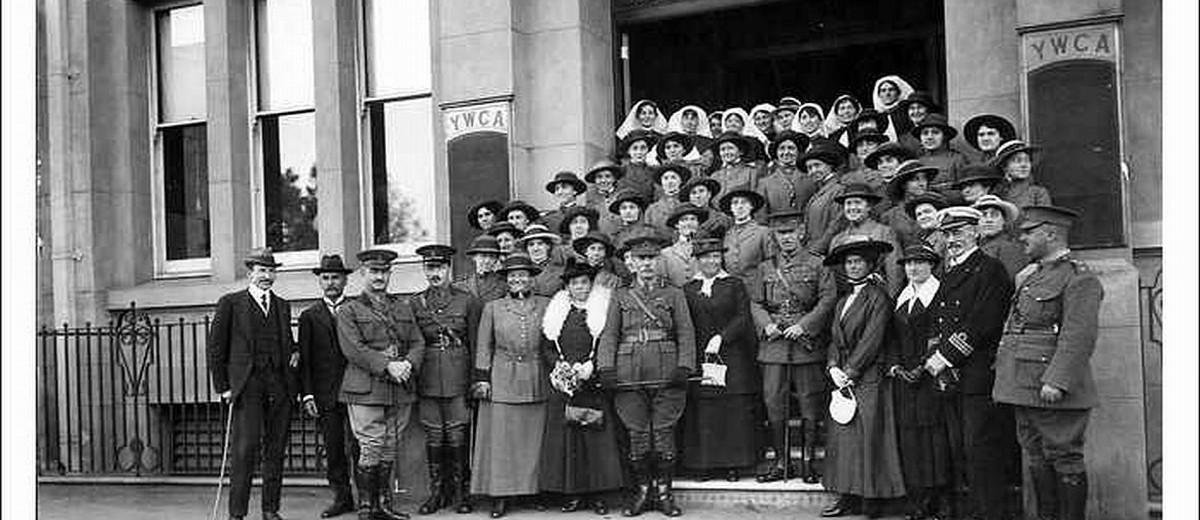 Image: Army nurses at YWCA