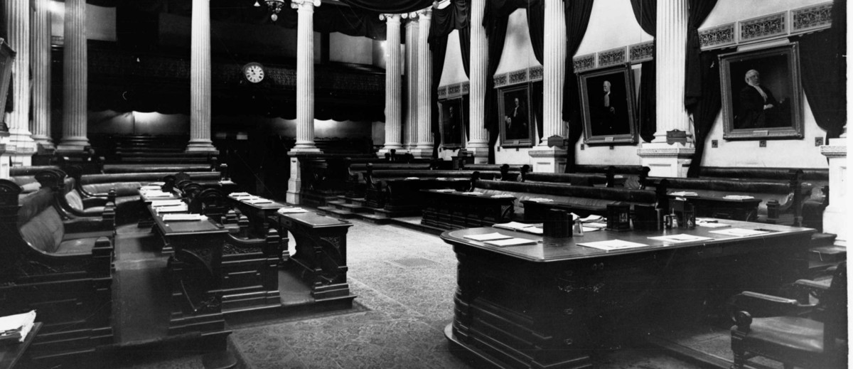 The House of Assembly chamber, Parliament House, Adelaide, 1938