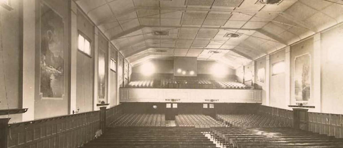 Auditorium seating