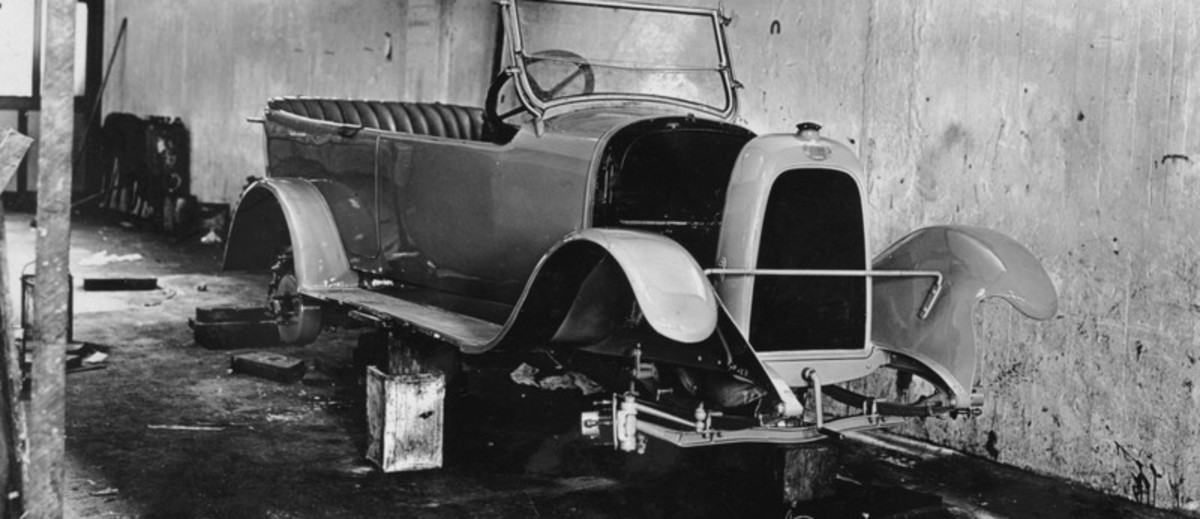 Image: car chassis