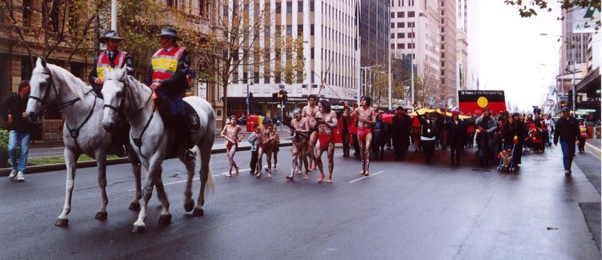Aboriginal flag 30th anniversary event