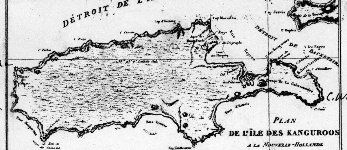 Image: printed map with text in French
