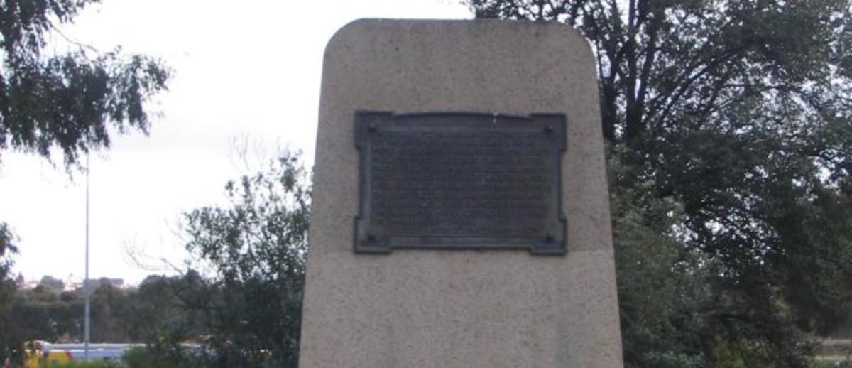 Colonel Light's Survey Marker Monument