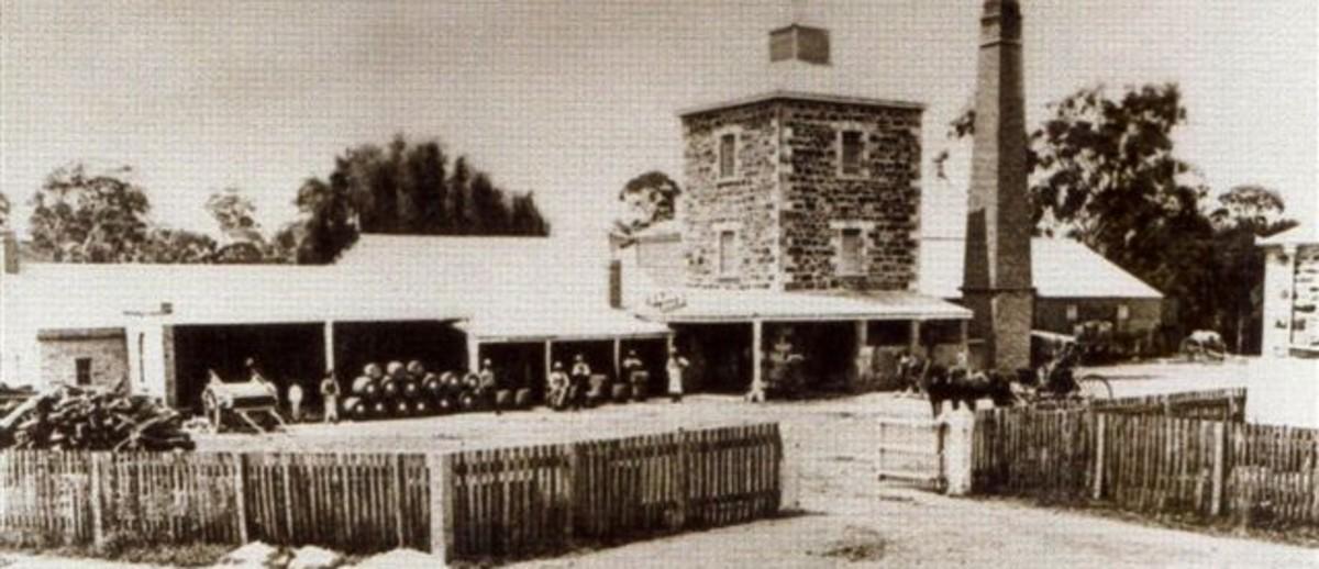 Oakbank Brewery, 1880s