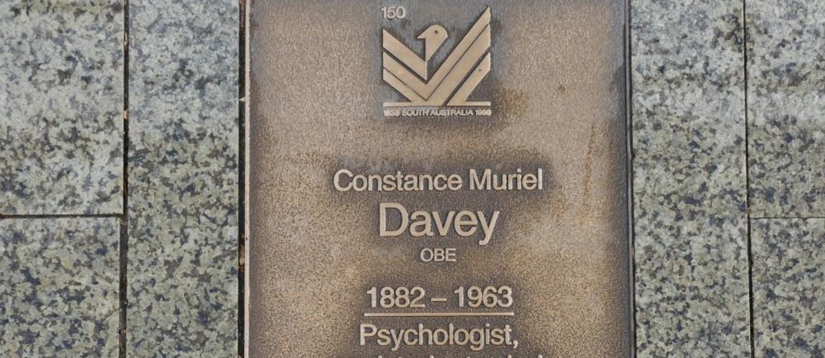 Image: Constance Muriel Davey Plaque