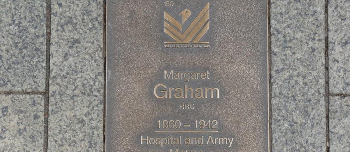 Image: Margaret Graham Plaque