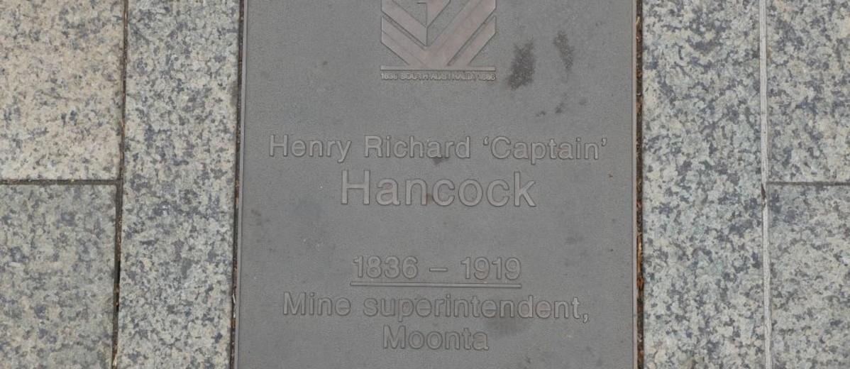 Image: Henry Richard Hancock Plaque