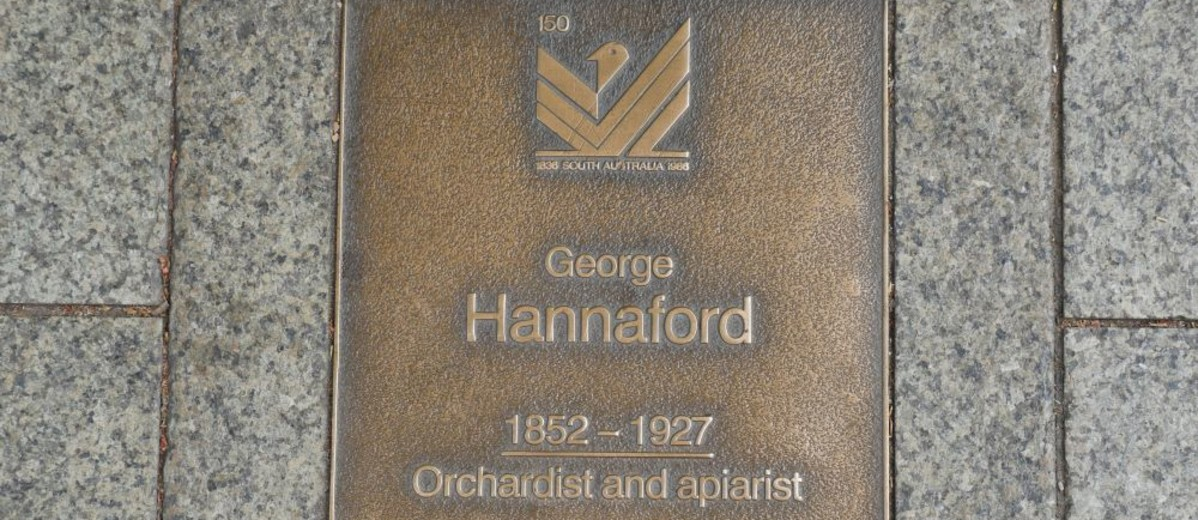 Image: George Hannaford Plaque