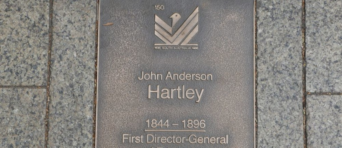 Image: John Anderson Hartley Plaque
