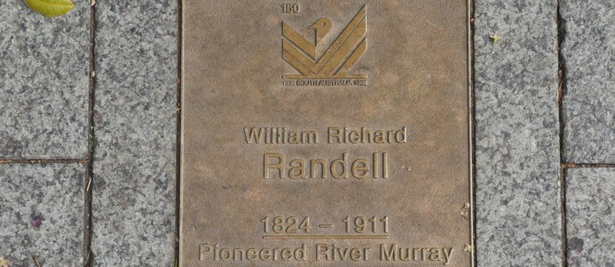 Image: William Richard Randell Plaque