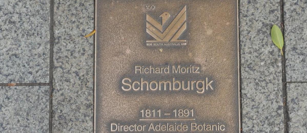 Image: Richard Moritz Schomburgk Plaque
