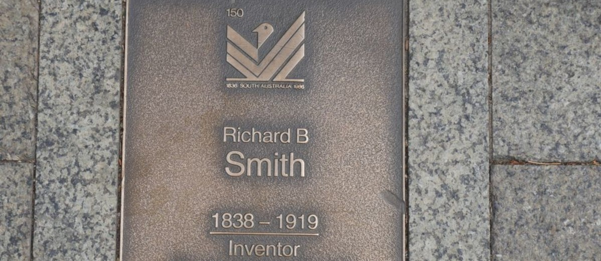 Image: Richard B Smith Plaque