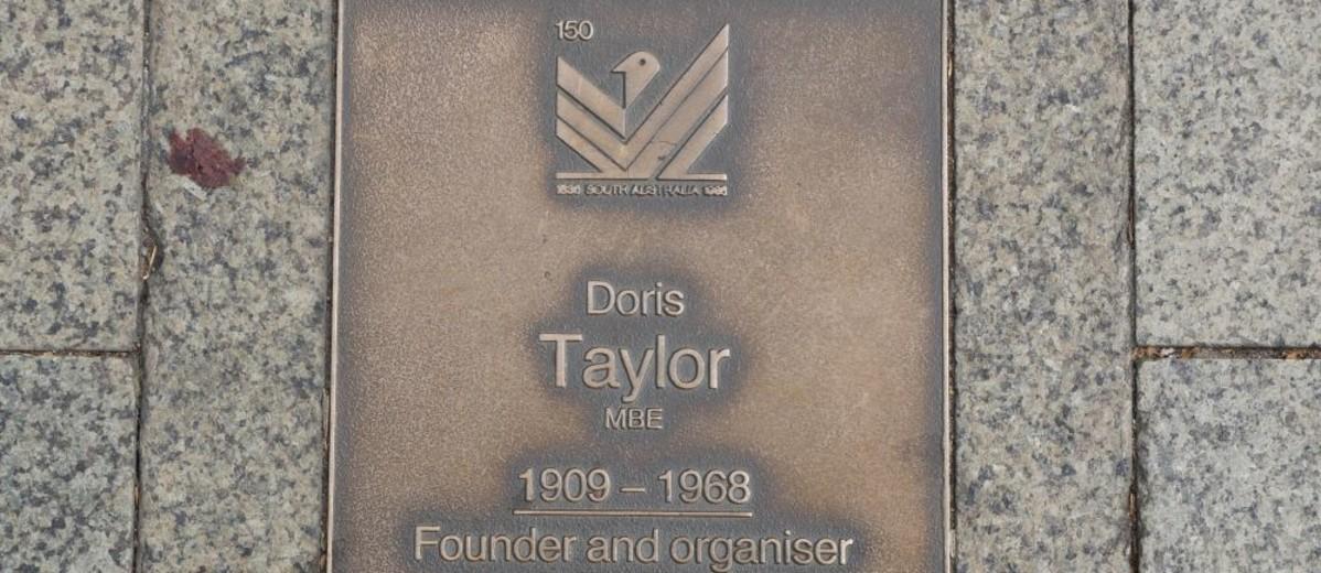 Image: Doris Taylor Plaque