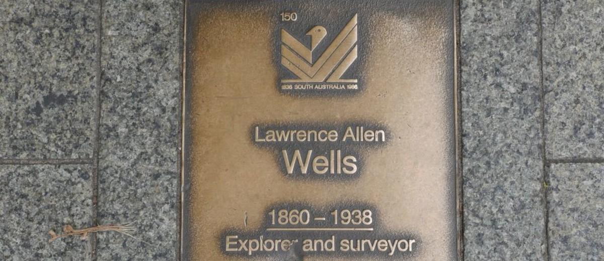 Image: Lawrence Allen Wells Plaque