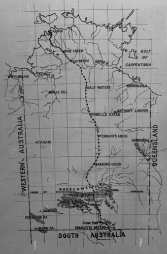 Map Of South Australia And Northern Territory.Northern Territory Sa History Hub