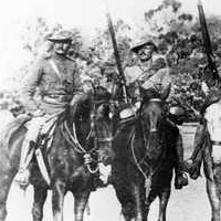 Some South Australian Infantry members who left for the Boar War, Feb 1900