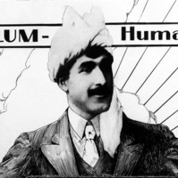 Image: advertisement showing a man wearing a white turban
