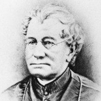 Image: portrait of white-haired clergyman
