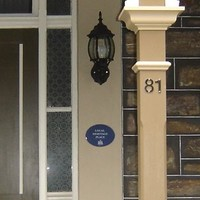 Image: Home with Adelaide City Council Plaque