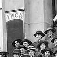 Image: Army nurses at YWCA