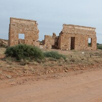 Image: ruins of stone building