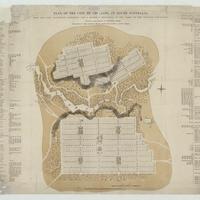 Image: sepia city map