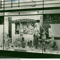 Image: window display with range of chemist products
