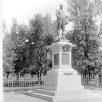 Image: view of a statue of a man