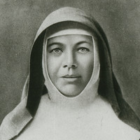 Image: portrait of woman in a religious habit.