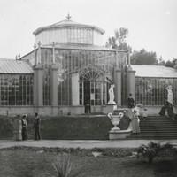 Image: Ornate glasshouse