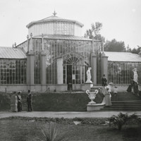 Image: Ornate glasshouse