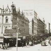 Image: Busy street scene