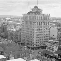 Image: Elevated view of tall building
