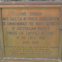 Image: close up shot of engraved bronze plaque