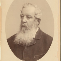Image: Portait of man with long beard and dark jacket