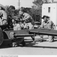 Image: Artillery Drill at Torrens Parade Ground