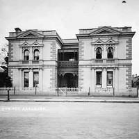'Metuenda' private residence, South Terrace, west corner Louisa St, c.1900