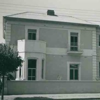 Left side of Torrens House, South Terrace east, 1952