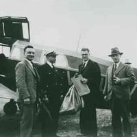 Image: First air mail flight to Kangaroo Island