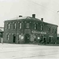South Terrace, west corner Hanson St, c.1923