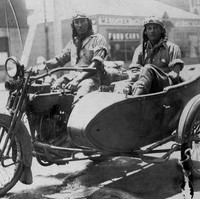 Image: Motorcycle with sidecar