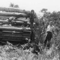 Image: Soldier settler scrub clearance on Kangaroo Island