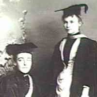 Old Scholars of the Advanced School for Girls who were early graduates, c. 1900.