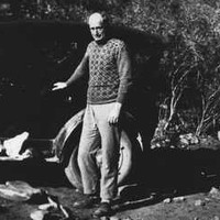 Sir Douglas Mawson in the Flinders Ranges, c.1920