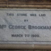 Image: Foundation stone, Brookman Building, North Terrace, Adelaide