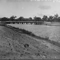 Image: View of bridge over river