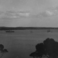 Image: Ships at American River, Kangaroo Island