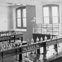 Laboratory of the South Australian School of Mines and Industries c.1900