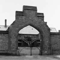 Image: Entrance to former police barracks