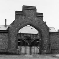 Image: Entrance to former police barracks